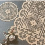 Tuscany Lace doilies & runners.