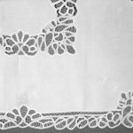 Classic Battenburg Lace tablecloth