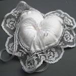 Tuscany Lace DIY Ring Bearer Pillower