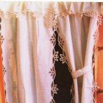 Blooms of Battenburg Lace curtain set