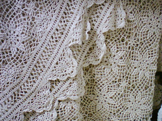 Star Flower Wagon Wheel Crochet Lace Bed Cover The Lace And