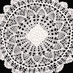 Pineapple Crochet Lace doilies and oval runners