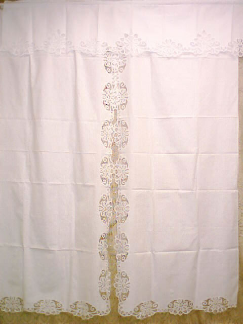 elite battenburg lace window treatment the lace and linens co