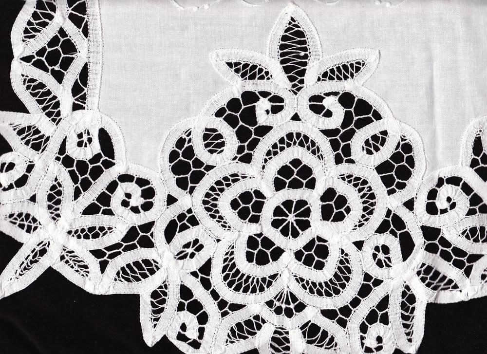 elite battenburg lace window treatment the lace and linens co the