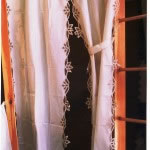 Simply Battenburg Lace Curtain sets and Valances