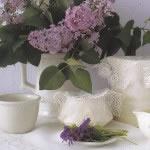 Fine Pinwheel Crochet Lace doilies