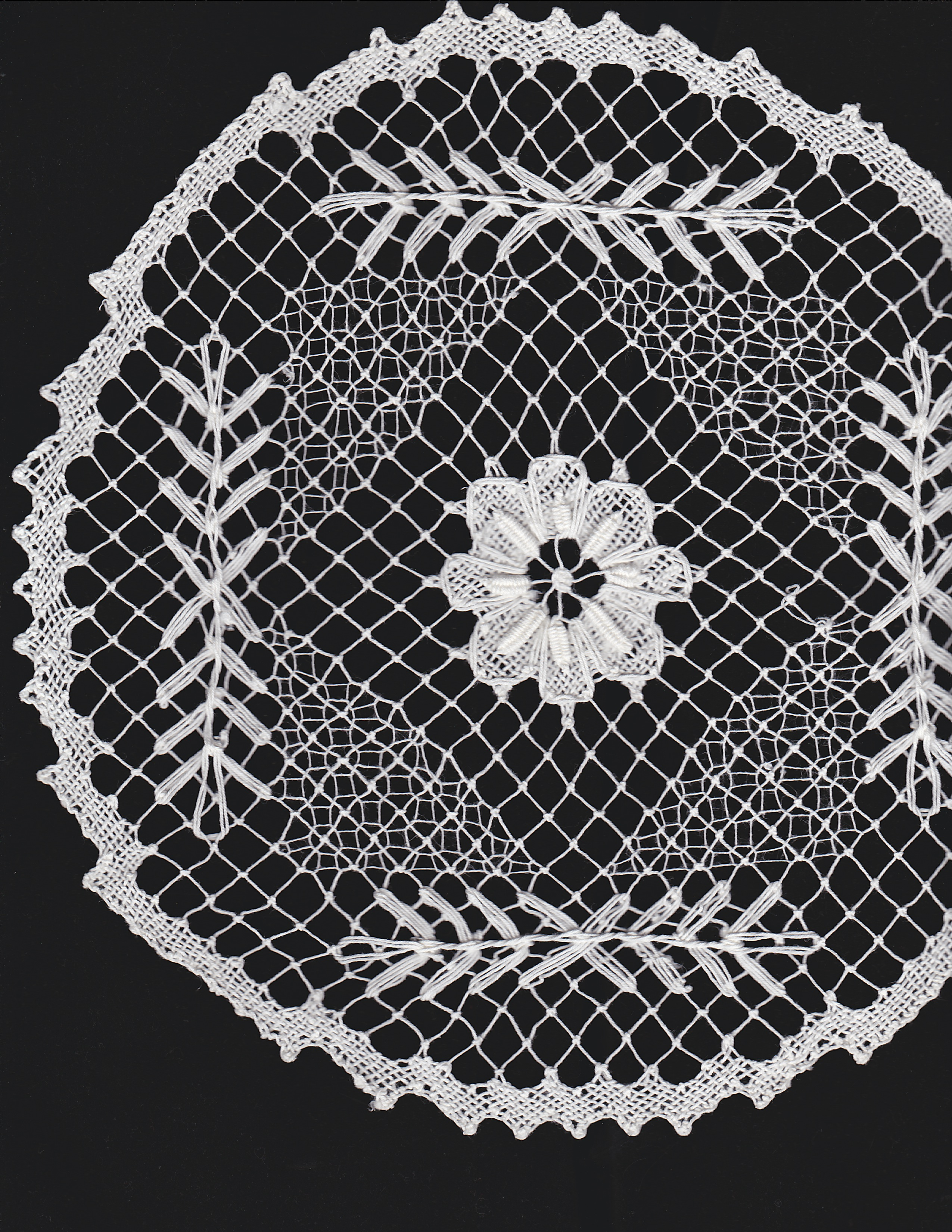 Diy supply lace doily lamp handmade lace doilies diy lamp shade tuscany lace hand knotted doily in white colour arubaitofo Image collections