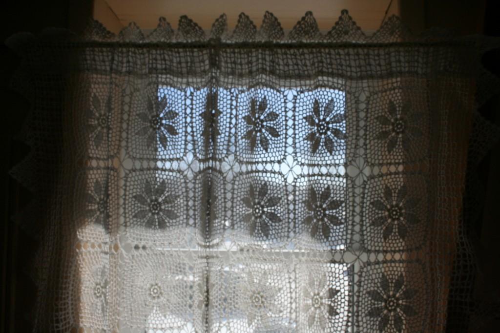 Diy supply window covering handmade crochet lace for Window cotton design