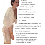 Crochet Lace tablecloth- DIY Lace Skirt