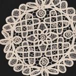 Ecru Renaissance Lace doily