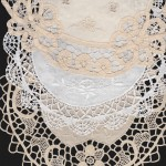 DIY supply of Handmade All Lace or Embroidered Doily -Crochet Lace, Tuscany Lace, Tatting Lace. Bobbin Lace etc. Many sizes available starting from 4″+6″+8″+10″+12″+14″+16″+18″+20″+24″+30″. Please inquire. Buy more, save more option available. Wholesale customers welcome.
