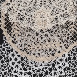 DIY supply of Handmade All Lace Doily -Crochet Lace, Tuscany Lace, Tatting Lace. Bobbin Lace etc.