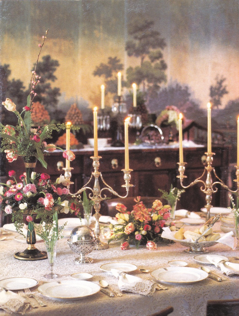 Dining With Style Formal Table Setting Brings Back Uplifted Values Of Manners Etiquette