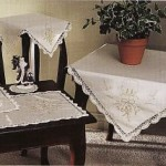 Elegant and classic, Golden Moments tablecloth can suit throughout the entire holiday season, Easter or even weddings. Easy-care Viscose & Polyester blend.