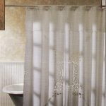 Embroidered Shower Curtain can transform an ordinary bathroom into a luxury of senses