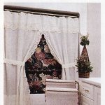 Starburst Shower Curtain features Punch Work Embroidery.
