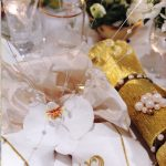 A touch of Golden Moments table setting.