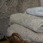 Hand made Crochet Lace tablecloths can add a homey feel to cottage living.