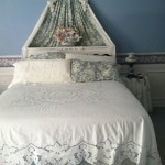 Lotus Blossoms Cutwork Bed Cover is an elegant choice for hot weather climates.