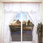 Elite Battenburg Lace -Classic with hand embroidered details for larger windows.