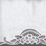 French Lace Guest towel is available in Finger Tip size & matching Euro siz.