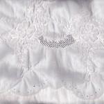 Cotton Madeira Embroidered Morning Glory sheet setg
