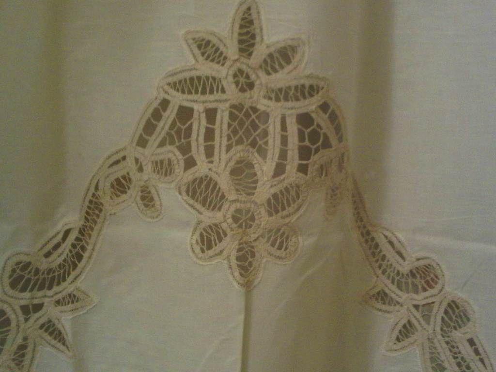 battenburg lace curtains ecru