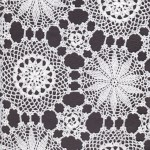 Snowflake Crochet Lace in detailed workmanship