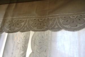 Starburst Punchwork Curtain Panels & valance.