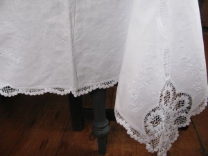 Whimsical Lace Cotton Tablecloth Is Perfect For Dining Entertaining
