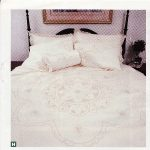 Starburst Punchwork embroidered duvet cover & shams