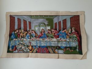 The Last Supper Needlepoint Picture
