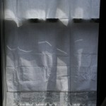 Crisp white Tuscany Lace panels (in pairs)