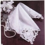 Elegant Wedding Handkerchief for heirloom keepsake and starting your own family tradition.