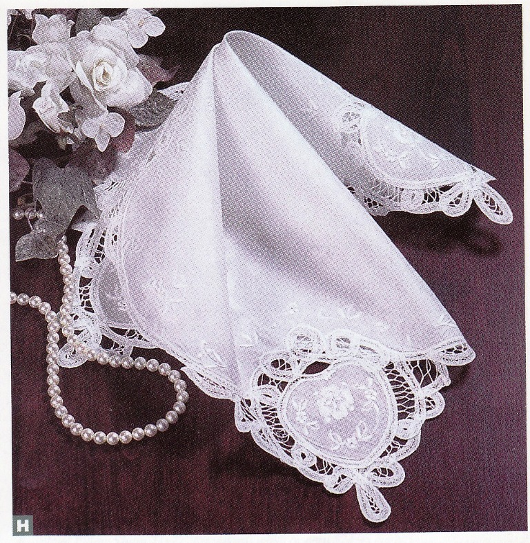 Elegant Wedding Handkerchief For Heirloom Keepsake And Starting Your Own Family Tradition