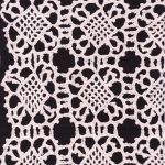 Vienna Crochet Lace 36 square tablecloth DIY curtain panel