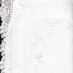 Oxford Pillow Cases with the same fine crochet lace edge & exquisite hand embroidered details to match